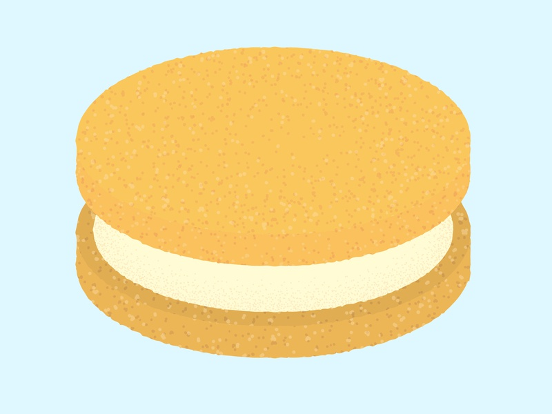 Daily Biscuit Challenge 31 biscuit rough design illustration texture colour vector