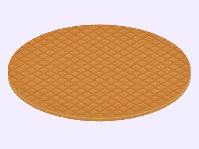Daily Biscuit Challenge 46, The Stroopwafel