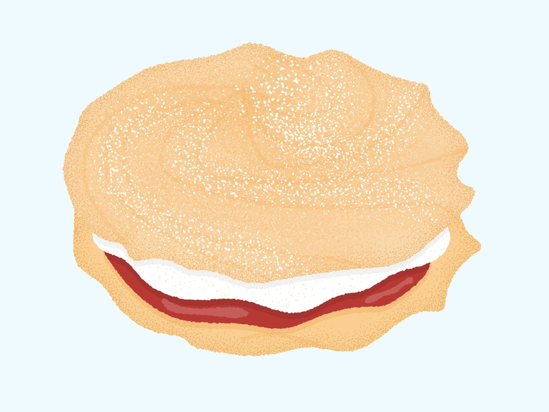 Daily Biscuit Challenge 50, The Viennese Whirl Biscuit
