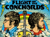 Flight Of The Conchords - Gigposter