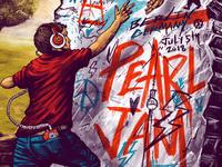 Pearl Jam  Berlin Gigposter