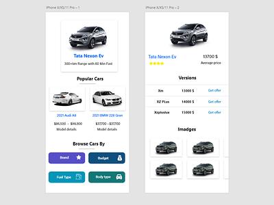 Cars Market web ux designer ux ui designer ui mobile app design mobile designer design app