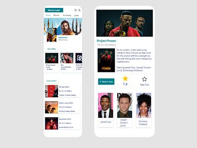 Movies News web ux designer ux ui designer ui mobile app design mobile designer design app