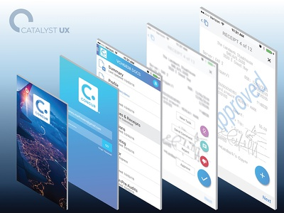 Concur Travel Expense Mobile App  mobile enterprise software