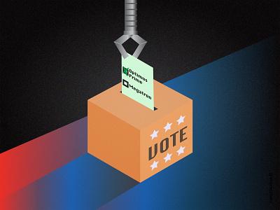 Vote Like your Galaxy Depends On It vector adobe illustrator illustration scifi voter registration voter awareness voting vote