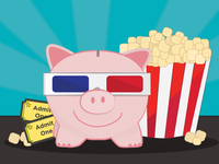 This Little Piggy Went to the Movies
