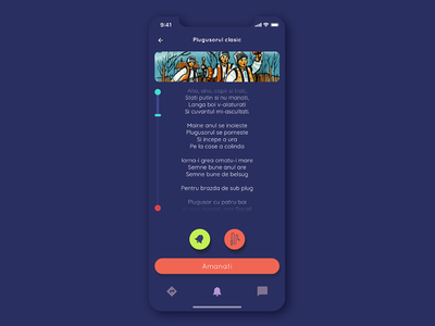 WĂIZ – The Romanian app for carols ipone x mobile ios agency carol christmas tradition romania ux ui design app