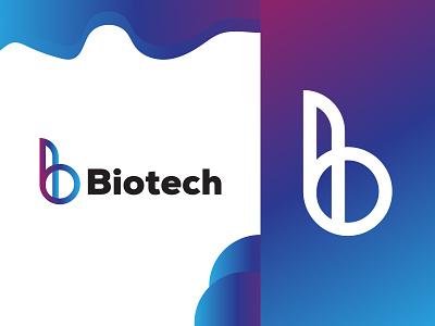 Biotech Modern logo modern logo modern app design biotech b logo design b logo blue mobile app design mobile app mobile brand design illustrator awesome modern logo logo awesome design app new modern icon icon design branding