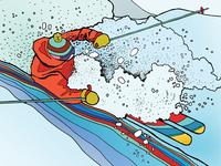 Breckenridge Ski Resort 50th Anniversary Poster