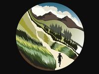 Summit Trail Running Series Poster