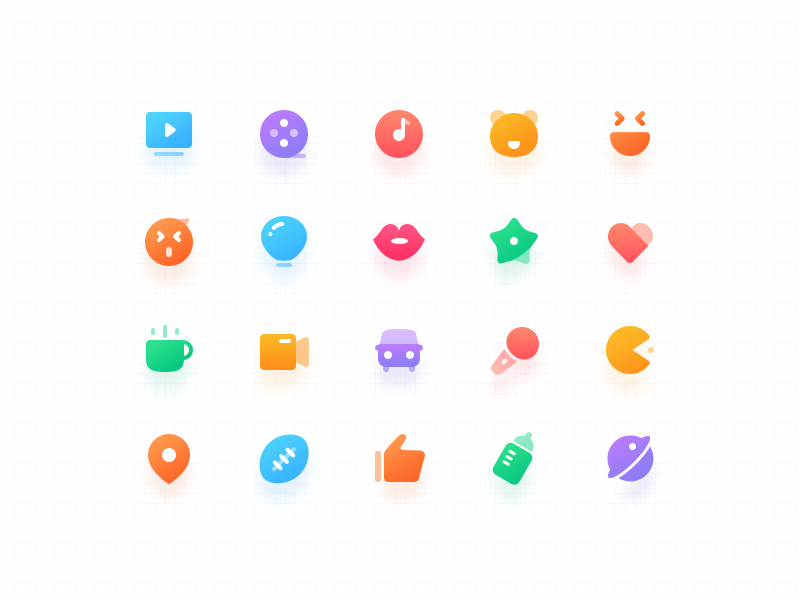 Color icons icon color