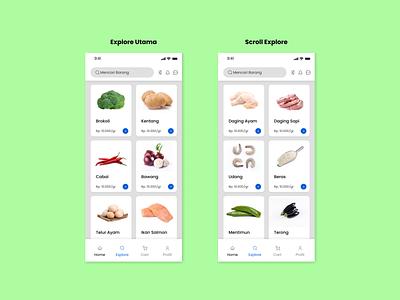 UI Design Explore Ecommerce ux ui ui design mobile app design app