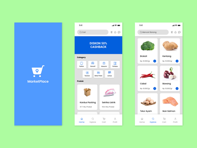 UI Design Mobile App Ecommerce icon branding ux ui design mobile app design app