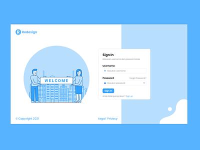 UI Design Login Page App Website login design login form website concept login website web design ui design design app