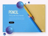 Pencil Landing Page