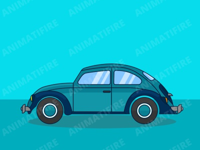 foxi car Illustration graphic designer graphics car illustration illustration foxi car animatifire adobe design graphic design adobe illustrator adobe photoshop
