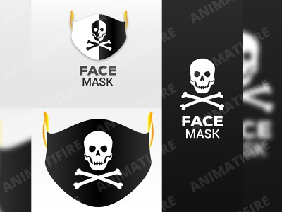 Face Mask corona virus covid19 mask face mask advertisment advertising graphic designer animatifire design graphic design adobe illustrator adobe adobe photoshop