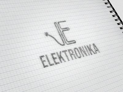 Electronics logo sketch logotype logo design logodesign sketch sketching graphicdesign graphicdesigner branding portfolio design portfolio page design portfolio adobe illustrator adobe photoshop graphic design