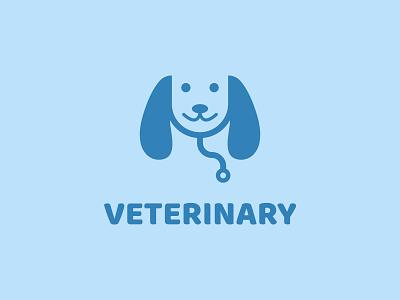 Veterinary logo concept art app vector minimal logo illustrator flat illustration icon design branding