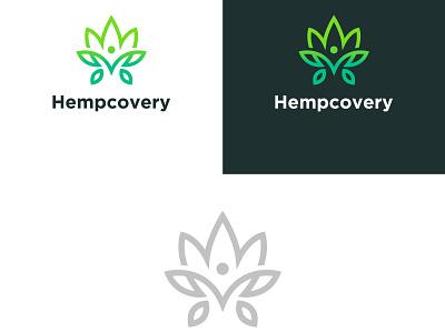Hemprecovery Logo art app vector minimal logo illustrator illustration icon flat design branding