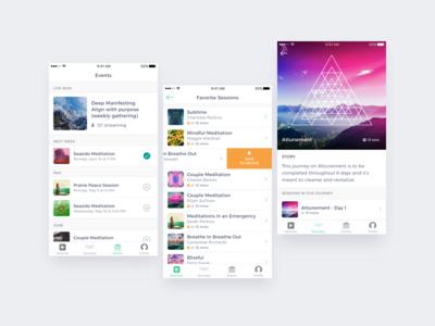 Mindbliss - Selected Screens