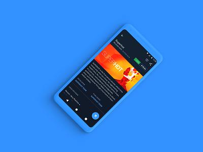 Reimagining Steam - Android steam hot super minimal glow gaming dark ux ui blue