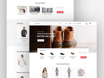 E-Commerce - Landing Page