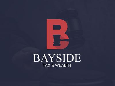 Bayside Tax & Wealth design logo product design packaging designer branding brand identity designer brand identity