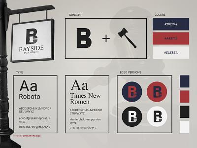 Bayside Tax & Wealth web typography ux ui logo packaging designer product design branding brand identity designer brand identity