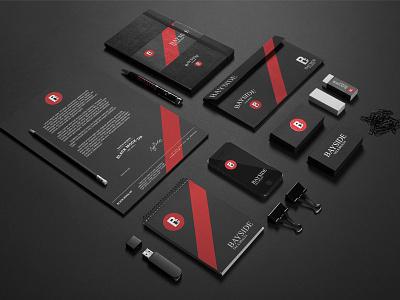 Beyside Tax Logo (Stationary Mockup) ui ux web packaging designer product design design logo branding brand identity designer brand identity