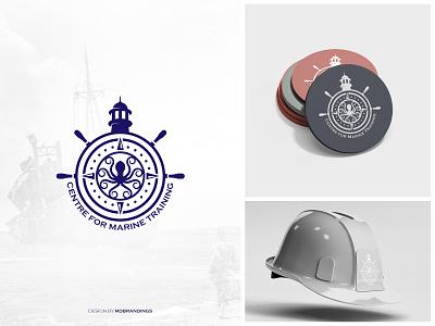 Marine Logo vector design graphic designer minimal logo branding brand identity designer brand identity