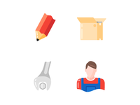 Some icons for e-commerce project