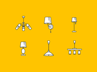 Icons for e-commerce site
