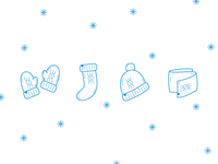 Some winter warm icons