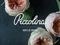 Piccolina Logo — Skirts and Dresses