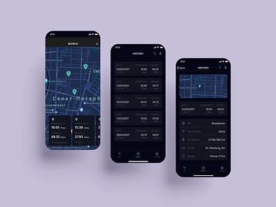 SpeedTest app speedtest speed application app design app uiux figma ui