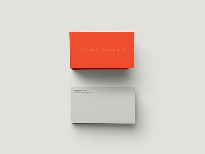 EE | Business Card fashion business card sexy minimal clean vibrant
