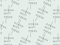 Ocean Mint Press Pattern