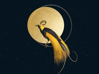 Astral Bird of Paradise
