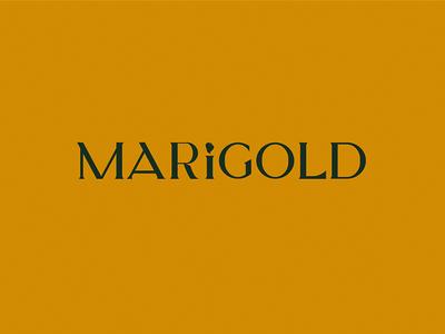 Marigold Custom Wordmark