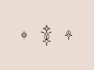 Tuareg Icons sun minimal cross ethnic icons tuareg