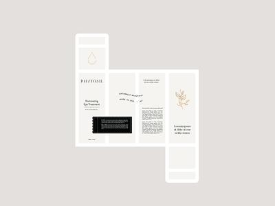 Phytosil Packaging simple packaging beauty skincare mockup