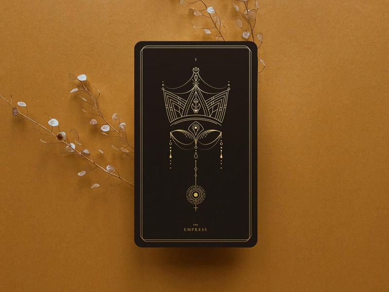 The Empress / Tarot Deck by Corina Nika on Dribbble