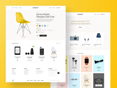 Module UI Kit Sample | Ecommerce sample catalog product card ecommerce ui kit