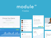 Module UI Kit Freebie