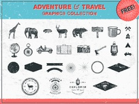 Adventure and Travel Graphics Collection