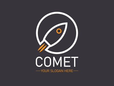 Rocket ship logo design minimal logo design vector logodesign flat logo illustrator design branding brand identity