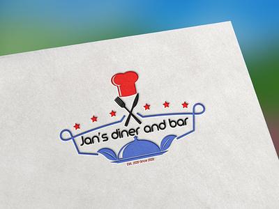 Restaurant Logo Design photoshop dise logomaker creative graphic illustrator marketing illustration logotype brand logos logodesigns graphicdesigner logodesign designer art logodesigner branding graphicdesign logo design