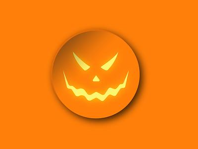 Pumpkin dribbbleweeklywarmup pumpkin halloween 3d art illustration 3d wallpaper vector design