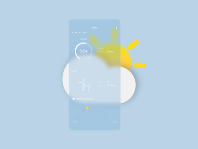 Weather Forecast glassmorphism glassmorphic glass design ui ux interface weather icon weather app weather forecast weather android android app huawei app design application application ui application design